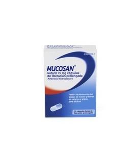 Mucosan Retard 75mg 30 capsulas