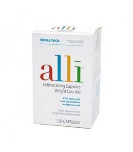 Alli 60 mg 120 capsulas