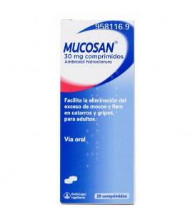 Mucosan 30mg 20 comprimidos