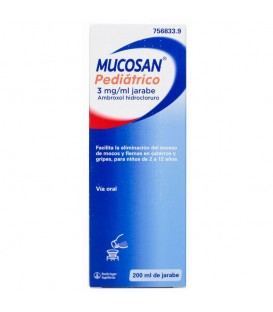 Mucosan 15mg/5ml jarabe pediátrico